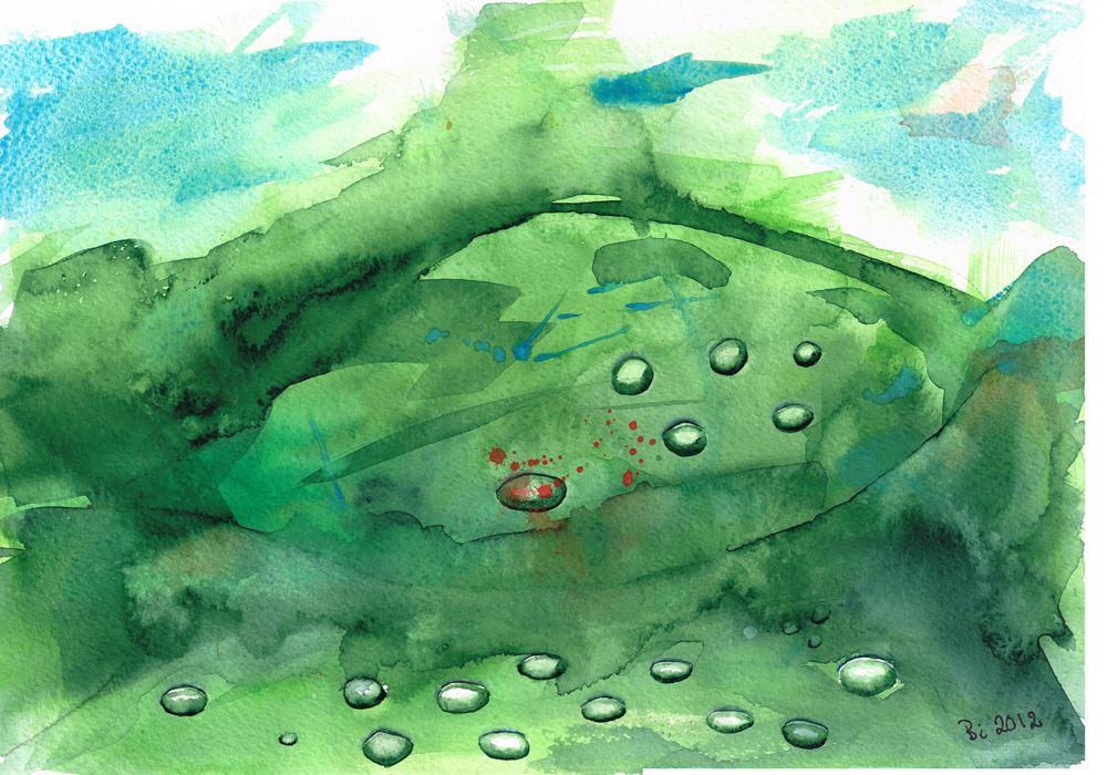 Utställning: Akvarellgruppen Vått i vått