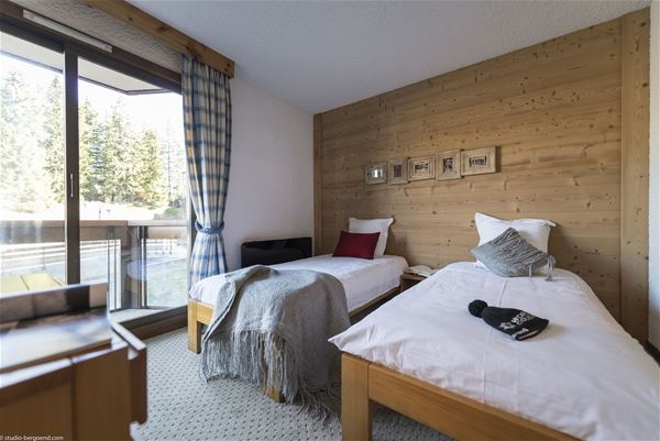 4 rooms, 6 people ski-in ski-out / Domaine du Jardin Alpin R08A (Mountain)