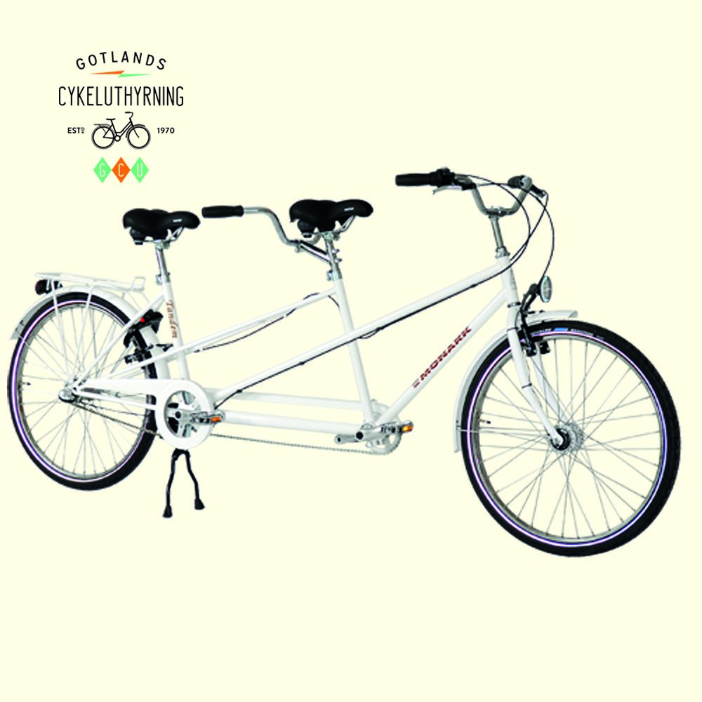 Single-speed tandem bicycle