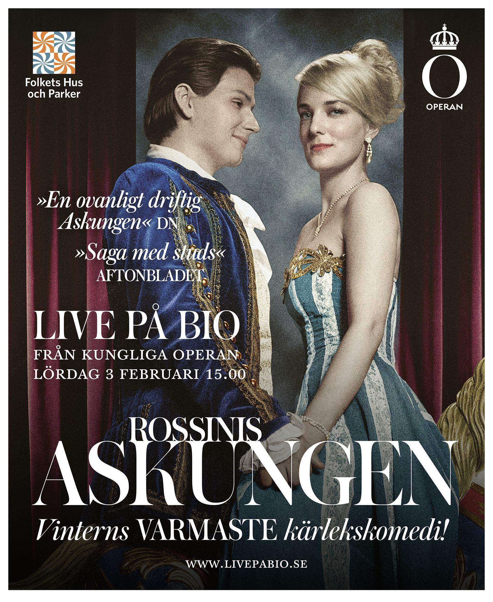 Kungliga Operan, Stockholm, ger Askungen