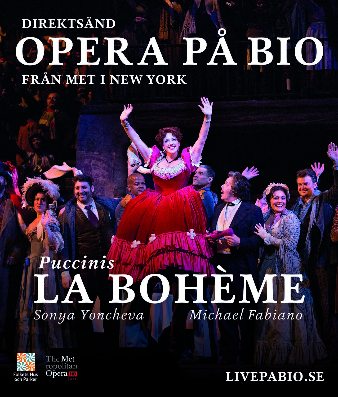Metropolitanoperan ger La Bohème