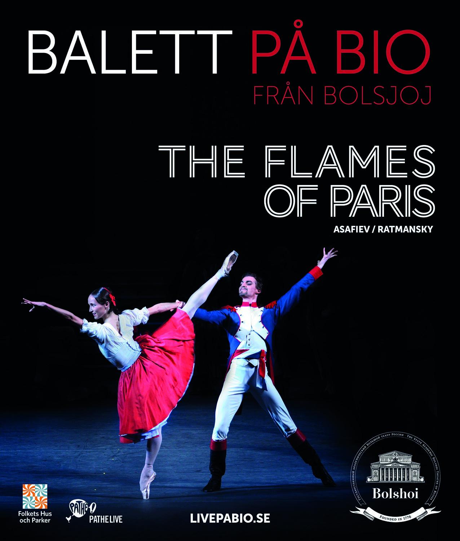 Bolsjojbaletten, Moskva, ger Flames of Paris