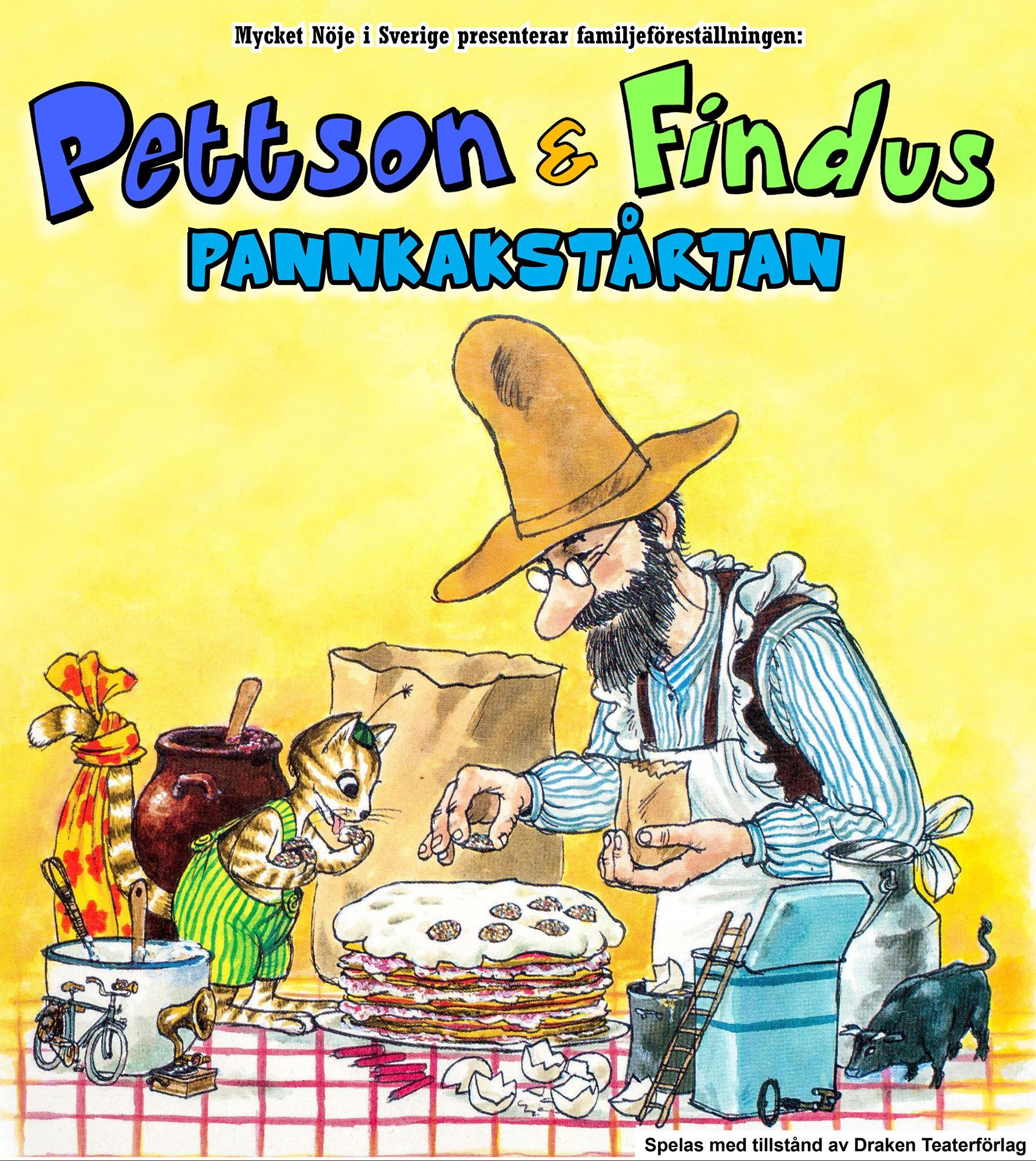Pettson & Findus: Pannkakstårtan – Barn- & familjeföreställning