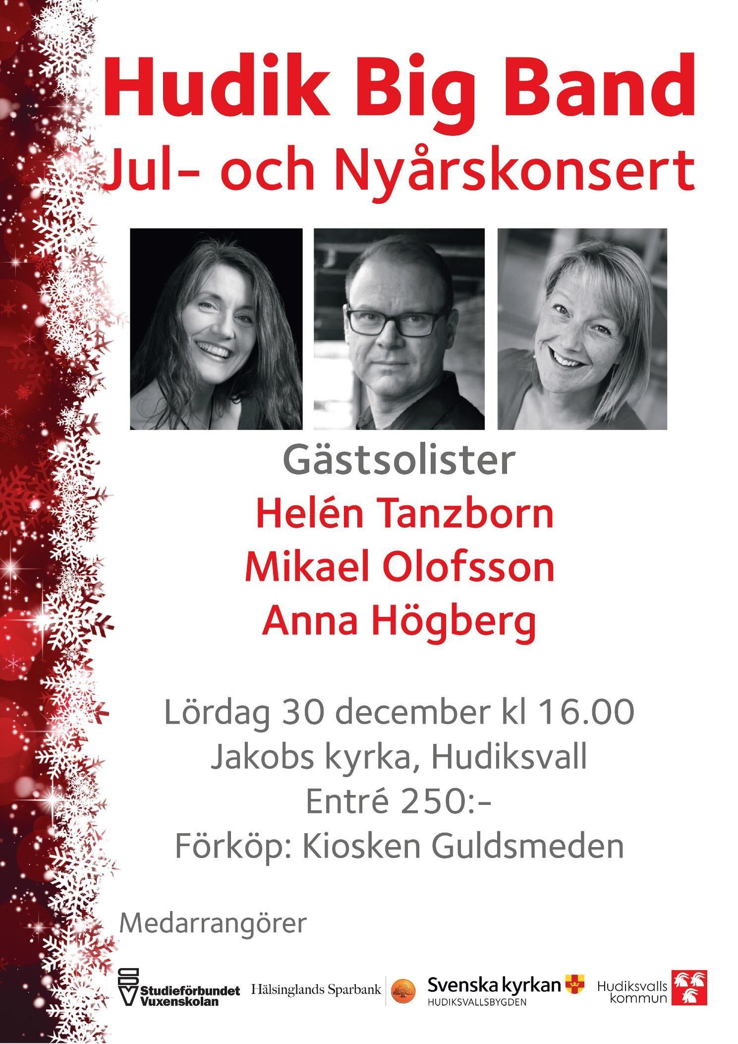 HudikBigBand Jul- och Nyårskonsert