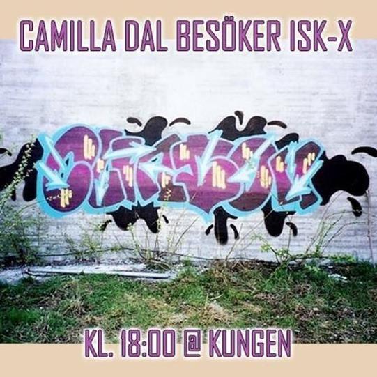 Isk-x: Camilla Dal visar sitt klotterarkiv