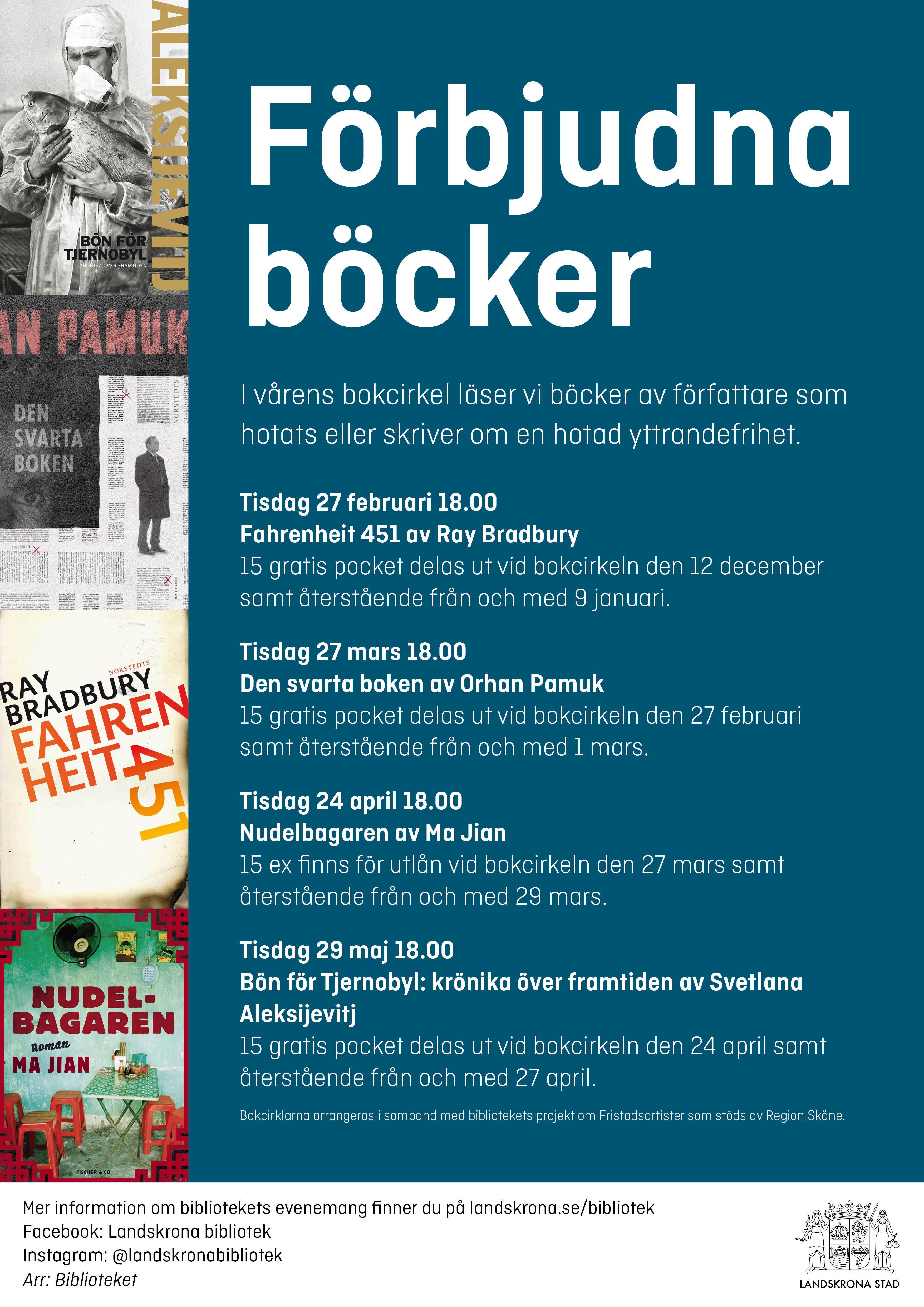 Bokcirkel: Förbjudna böcker