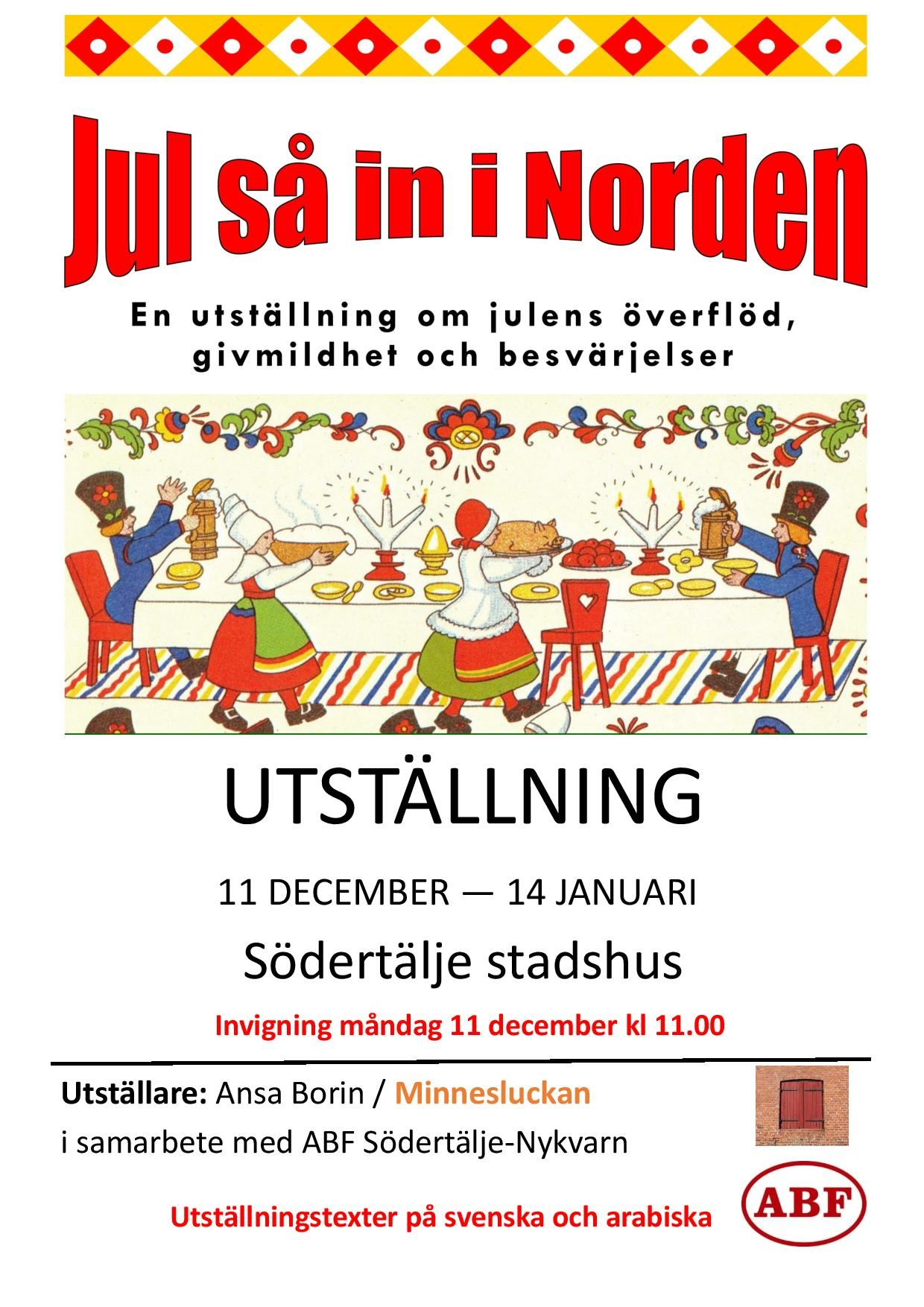 Utställning: Jul så in i Norden!