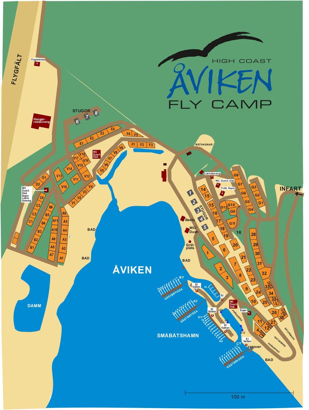 Åviken Fly Camp