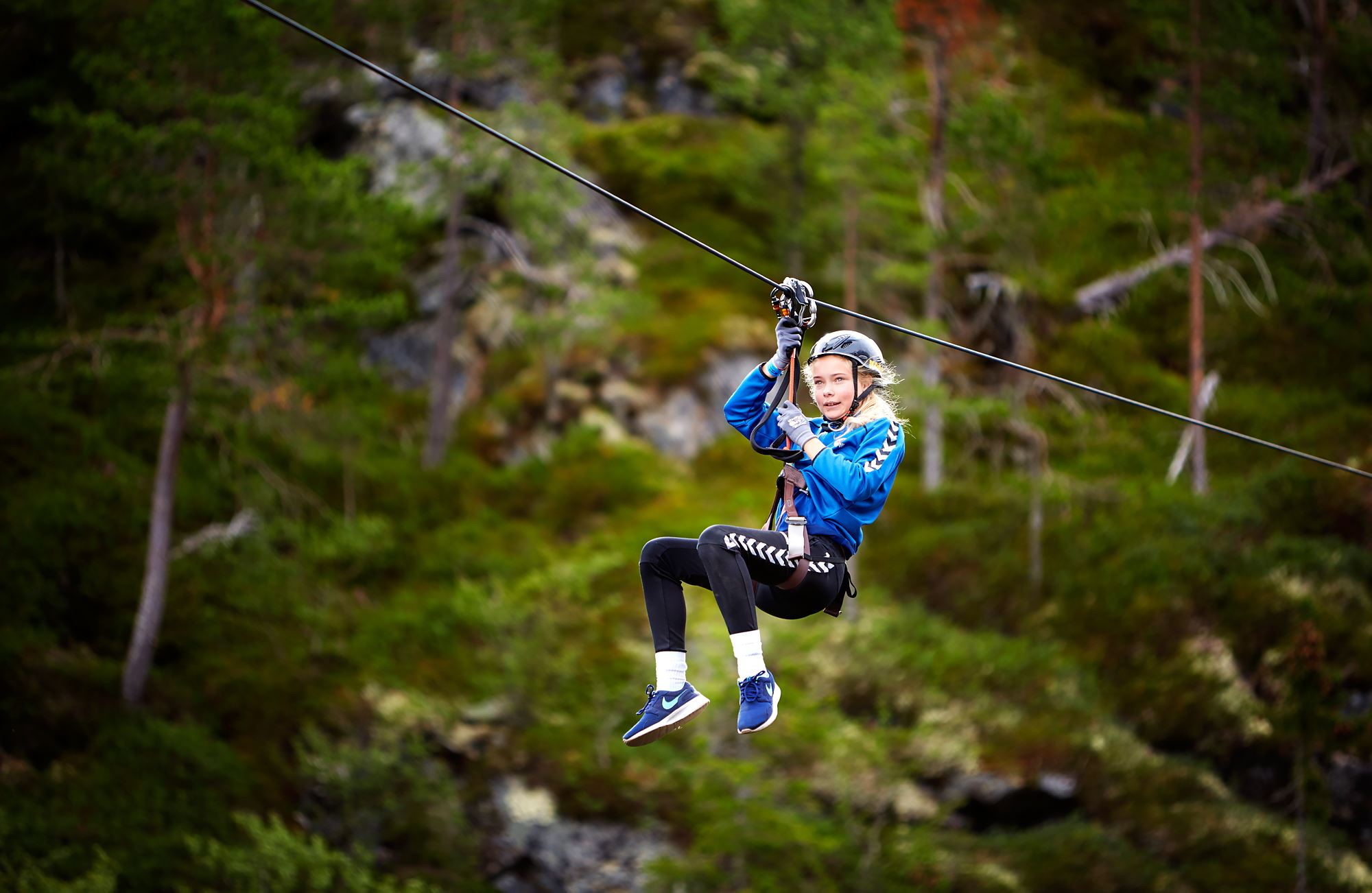 Cato Ravassbakk, Mosjøen Zipline 755 m – Nord-Norge første!