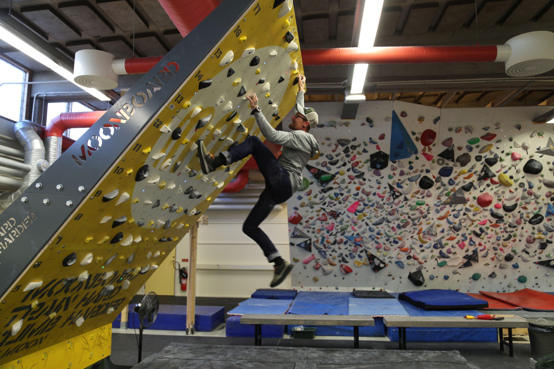 Invigning av Västerviks nya Climbing Center