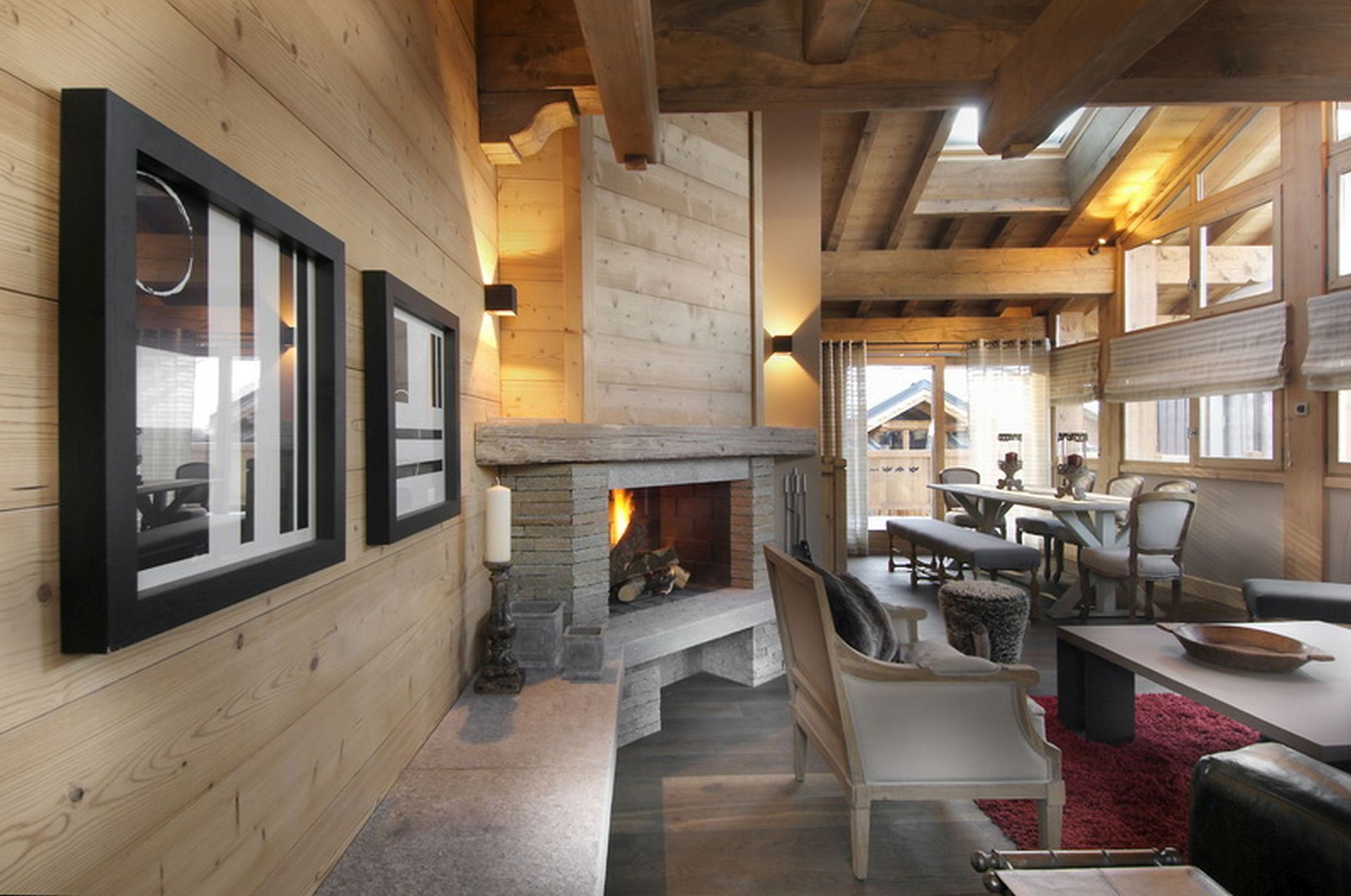 6 rooms, 10 people / Centre le Praz 003 (mountain of charm)