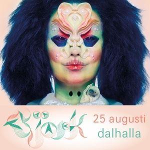 Björk 14 juli 2018 på Dalhalla
