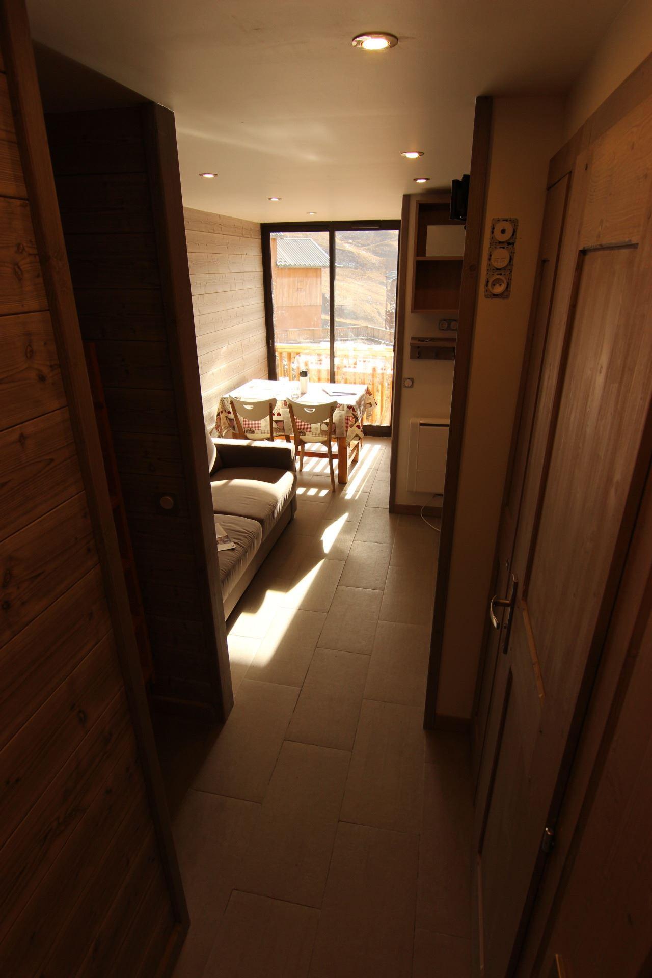 CIMES DE CARON 1102 / STUDIO CABIN 4 PERSONS - 3 GOLD SNOWFLAKES - VTI