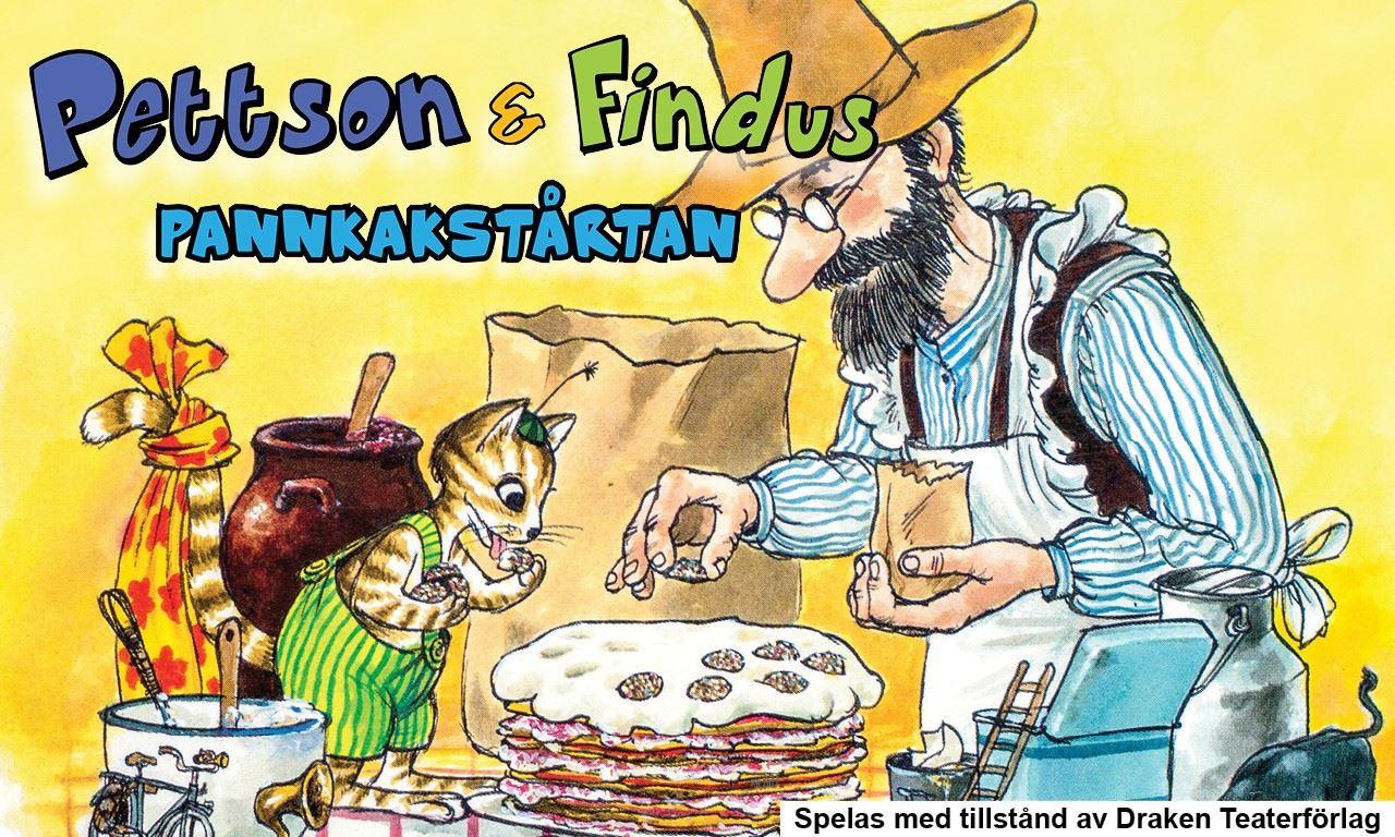 Pettson & Findus föreställning Pannkakstårtan
