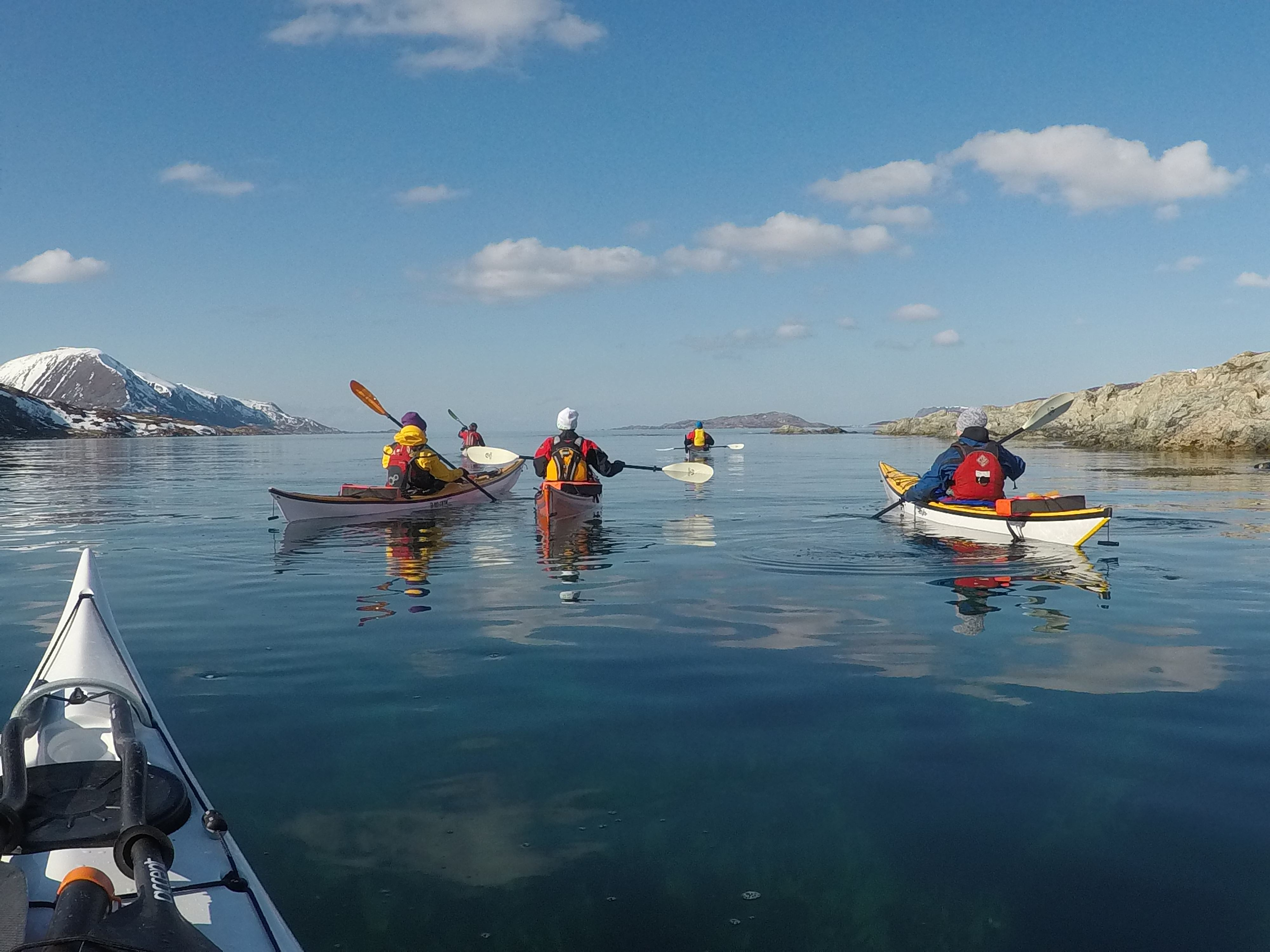2 Day Arctic Camp with kayaking - Elements Arctic Camp