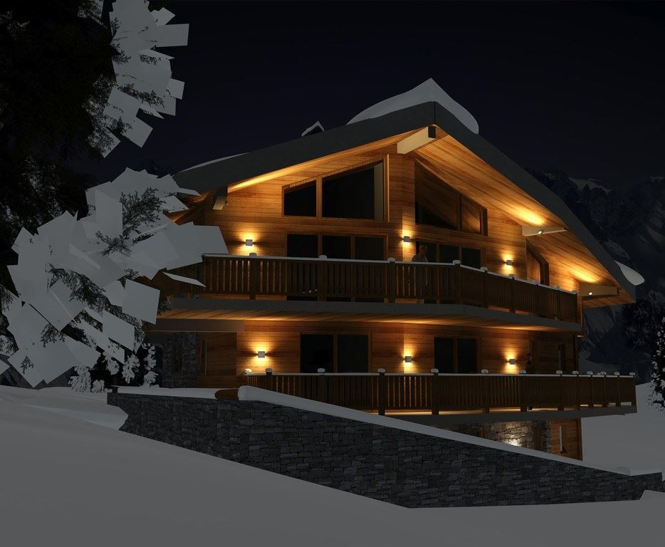 8 rooms, 14 people ski in - ski out / Chalet Pow Pow (mountain of exception)