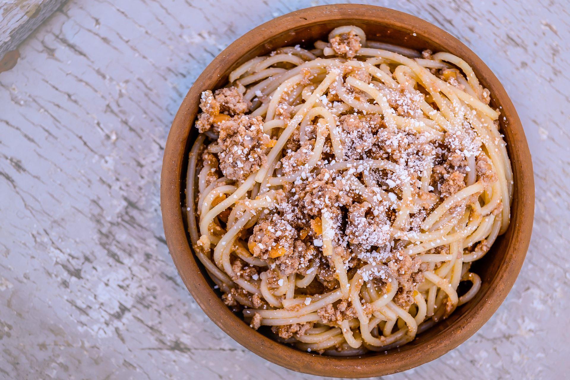 Gud och spagetti
