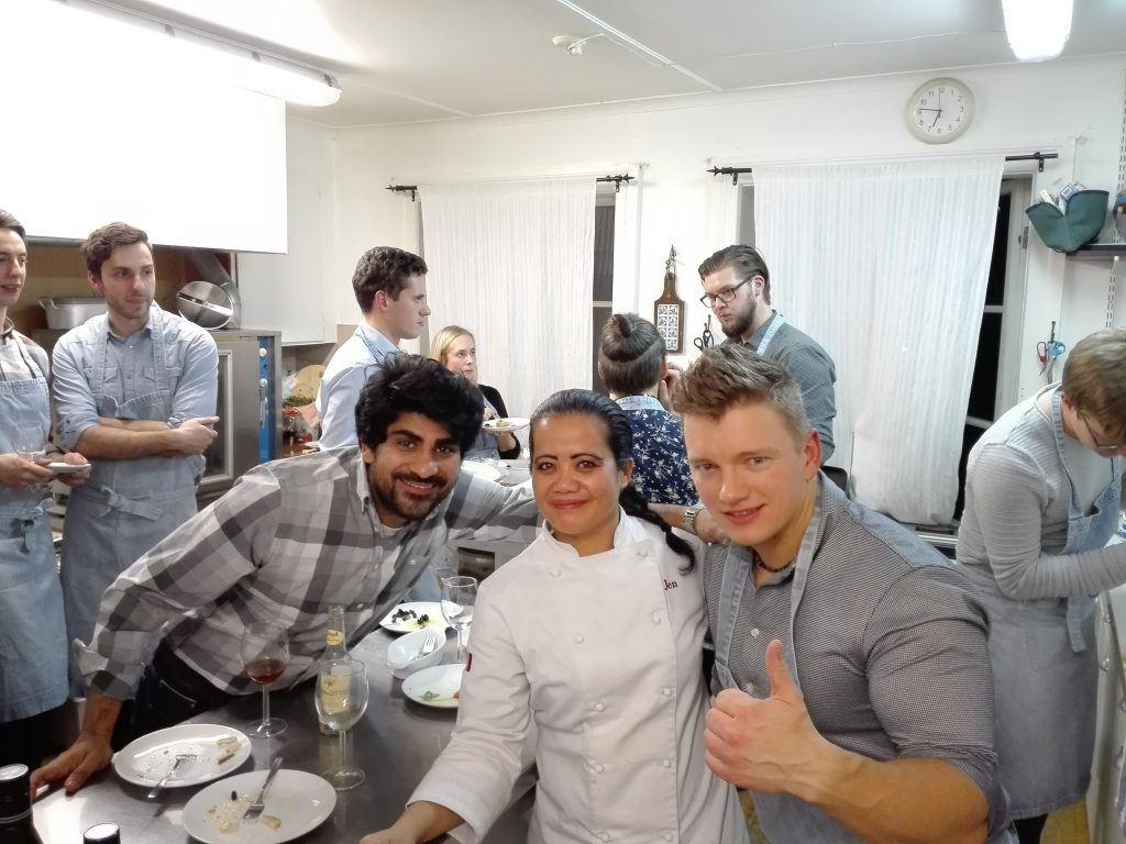 Matlagning med familjen Rugolo