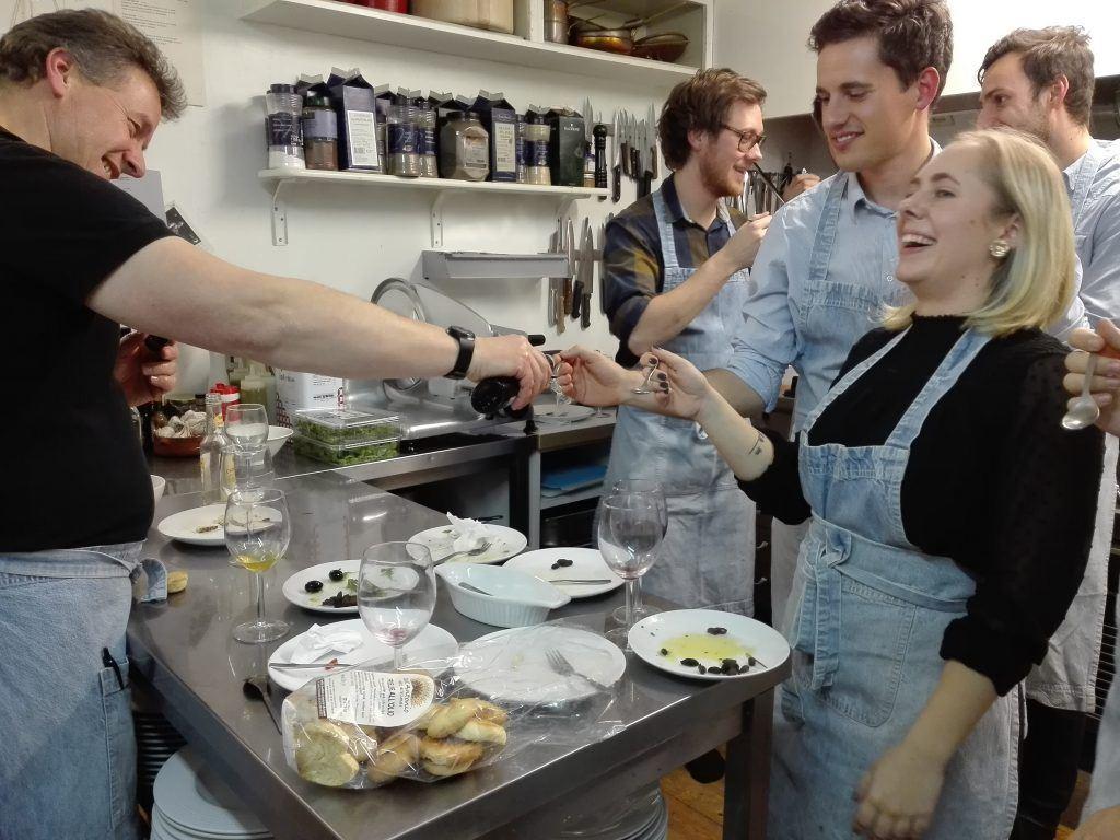 Specialpris 26/10 matlagning med familjen Rugolo