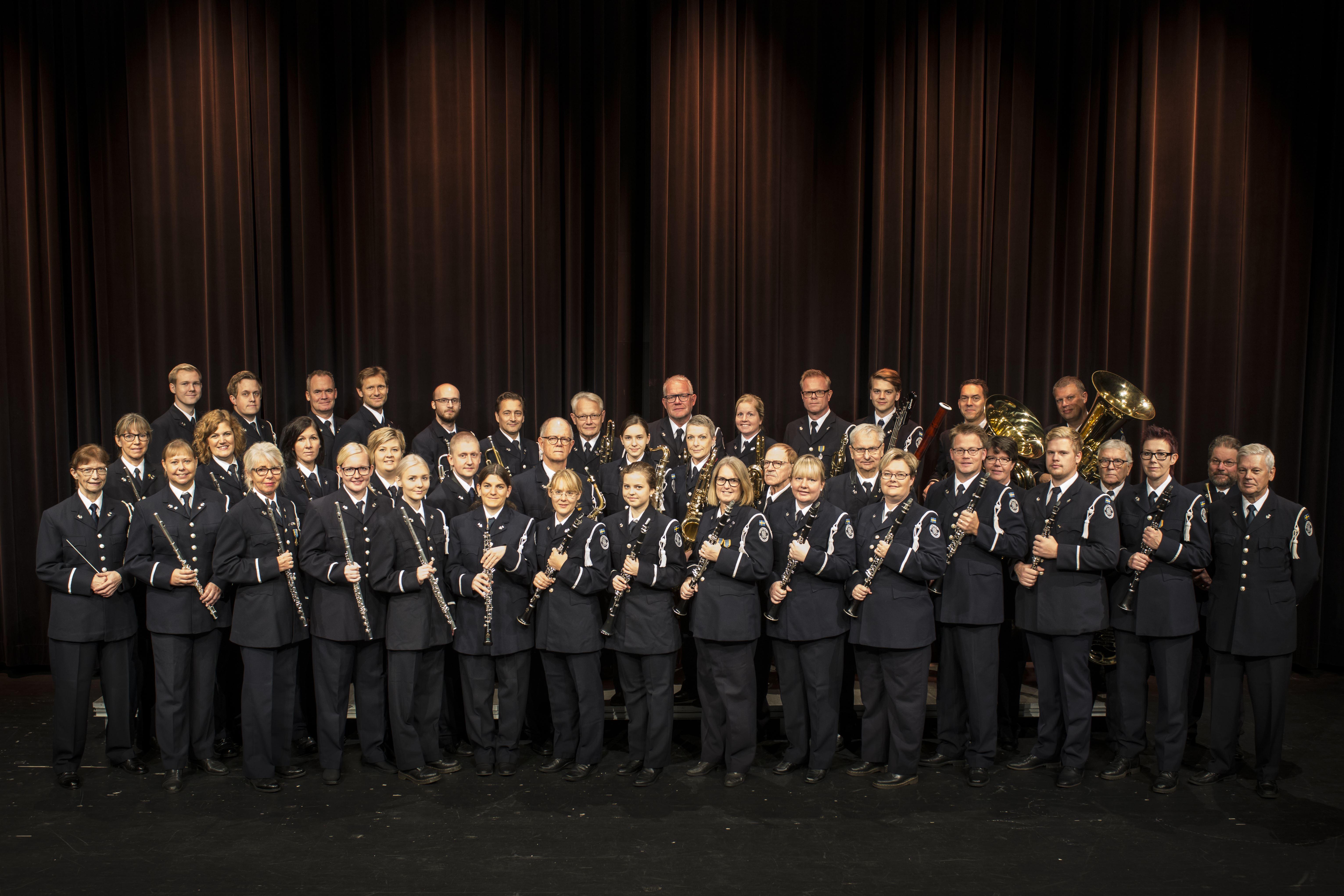 Schlagerkonsert med Hässleholms Stadsmusikkår