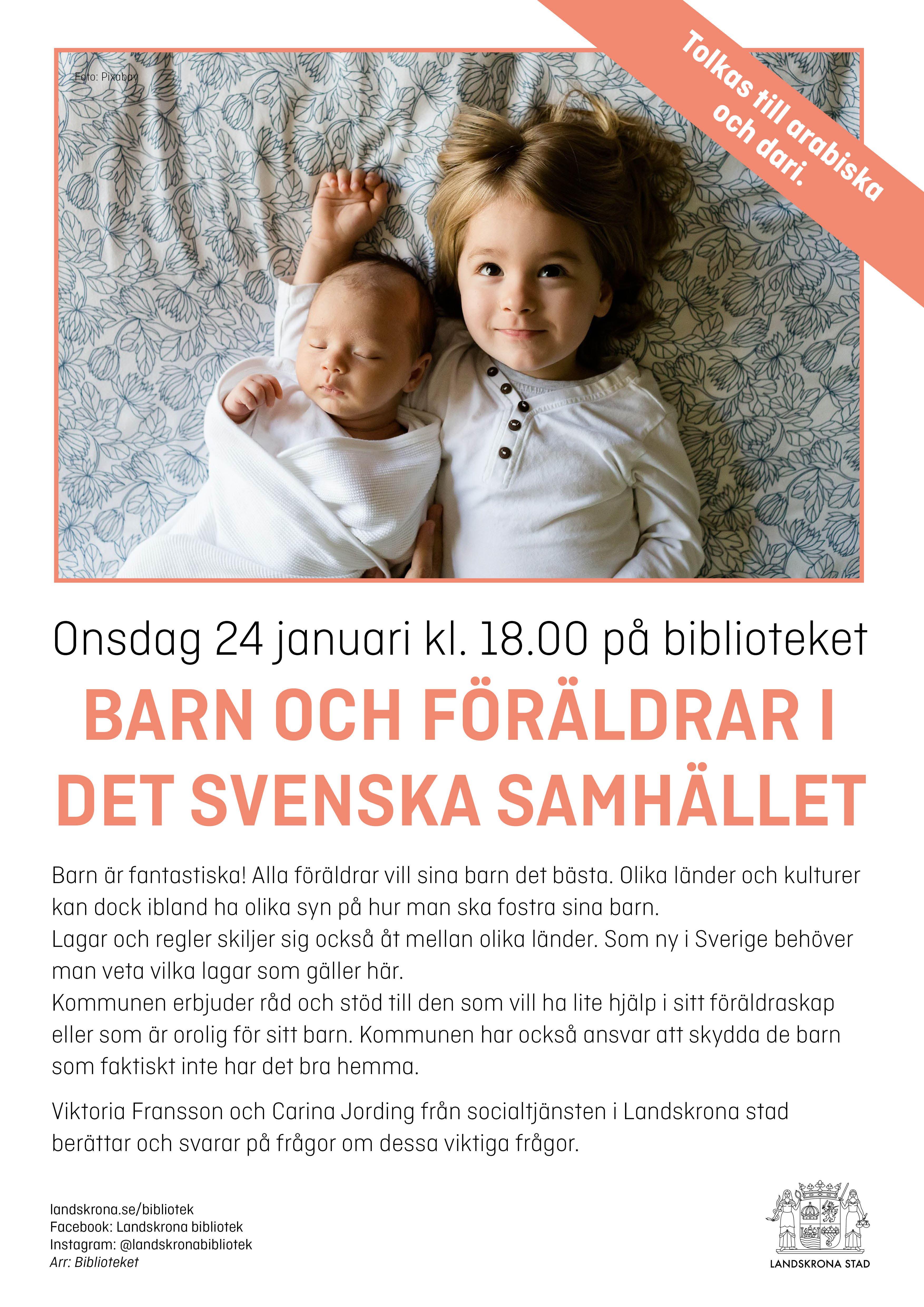 Barn och föräldrar i det svenska samhället
