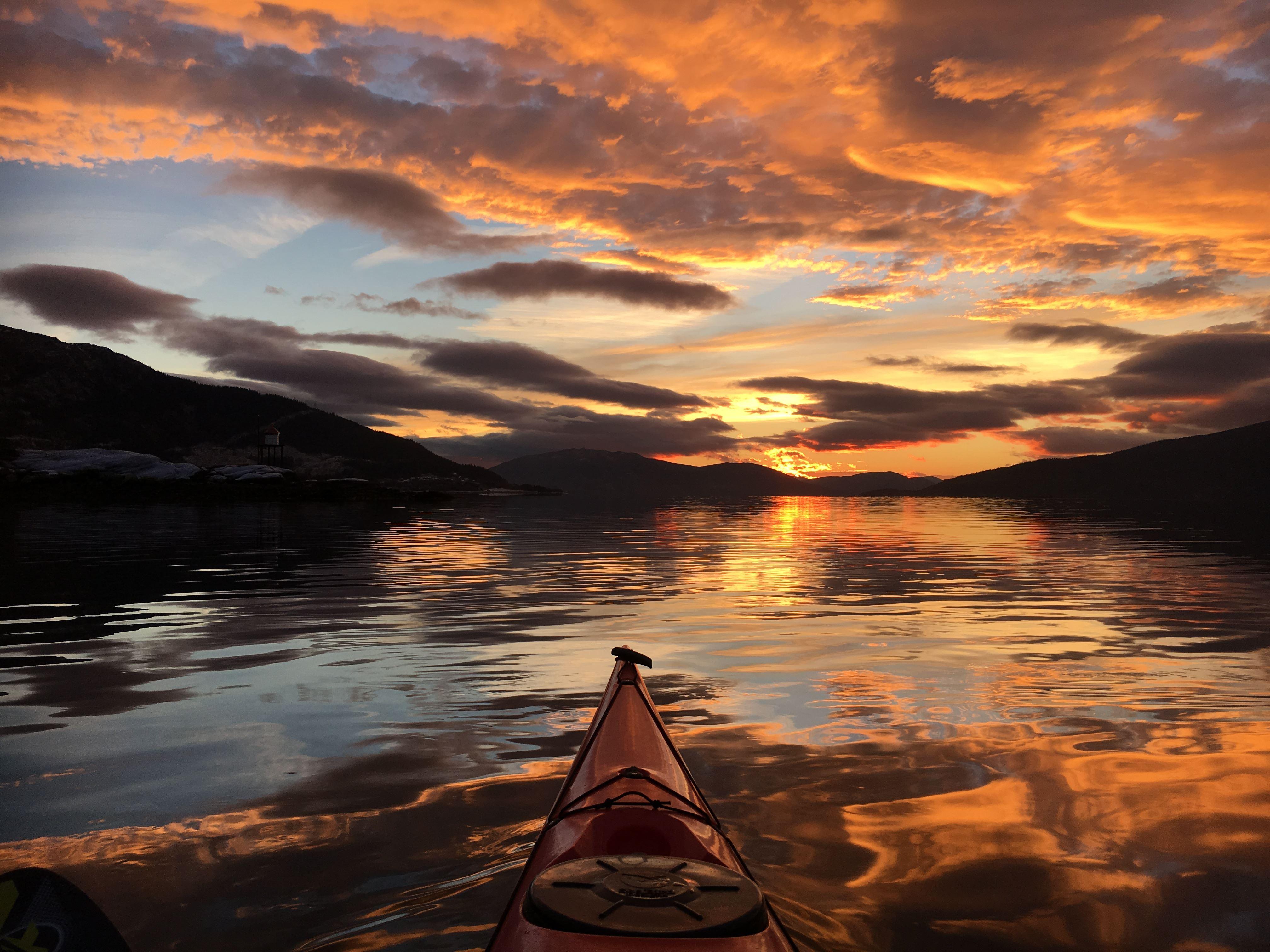 Experience Mo i Rana from a kayak
