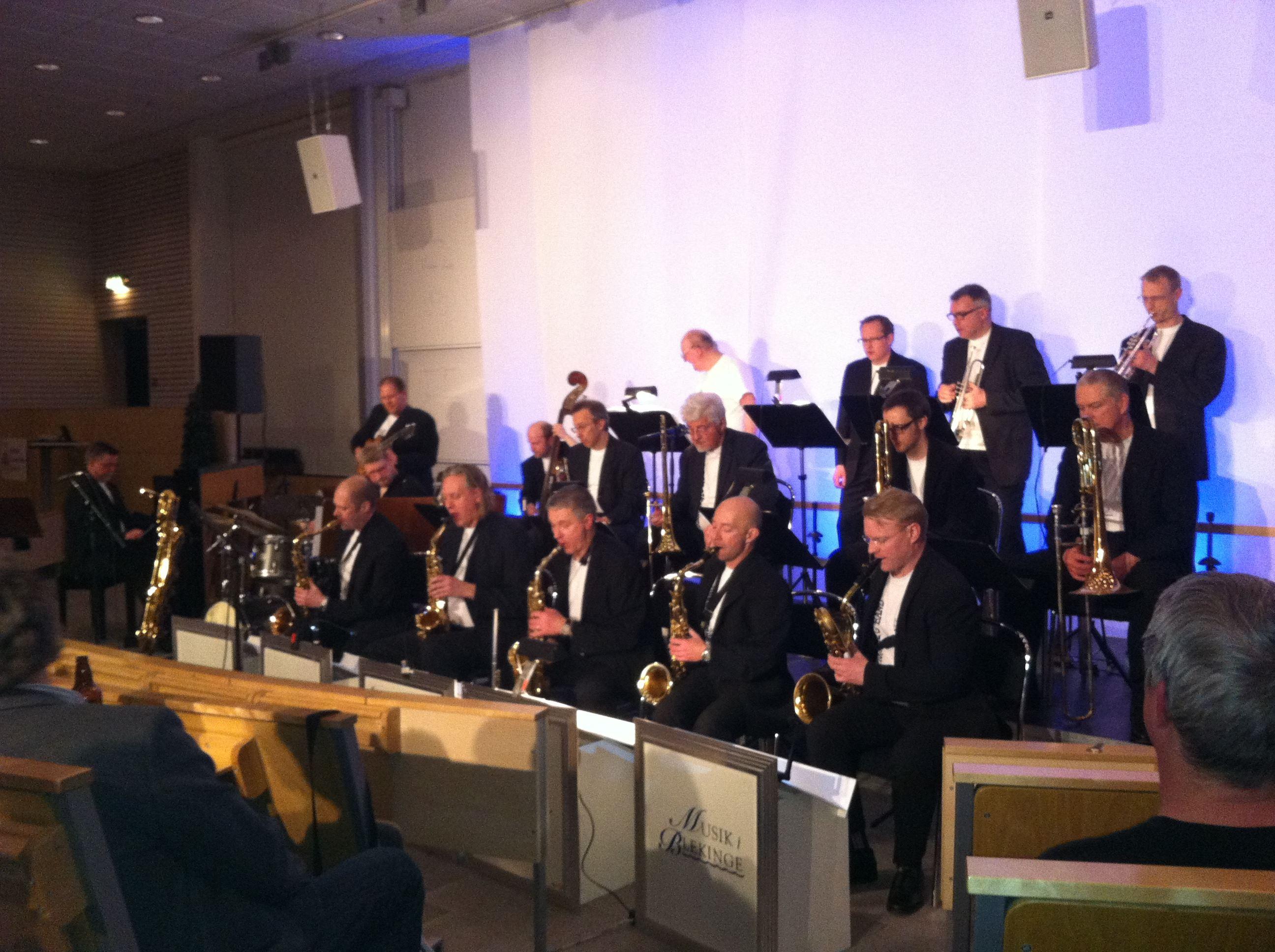 Blekinge Big Band med Katrine Madsen