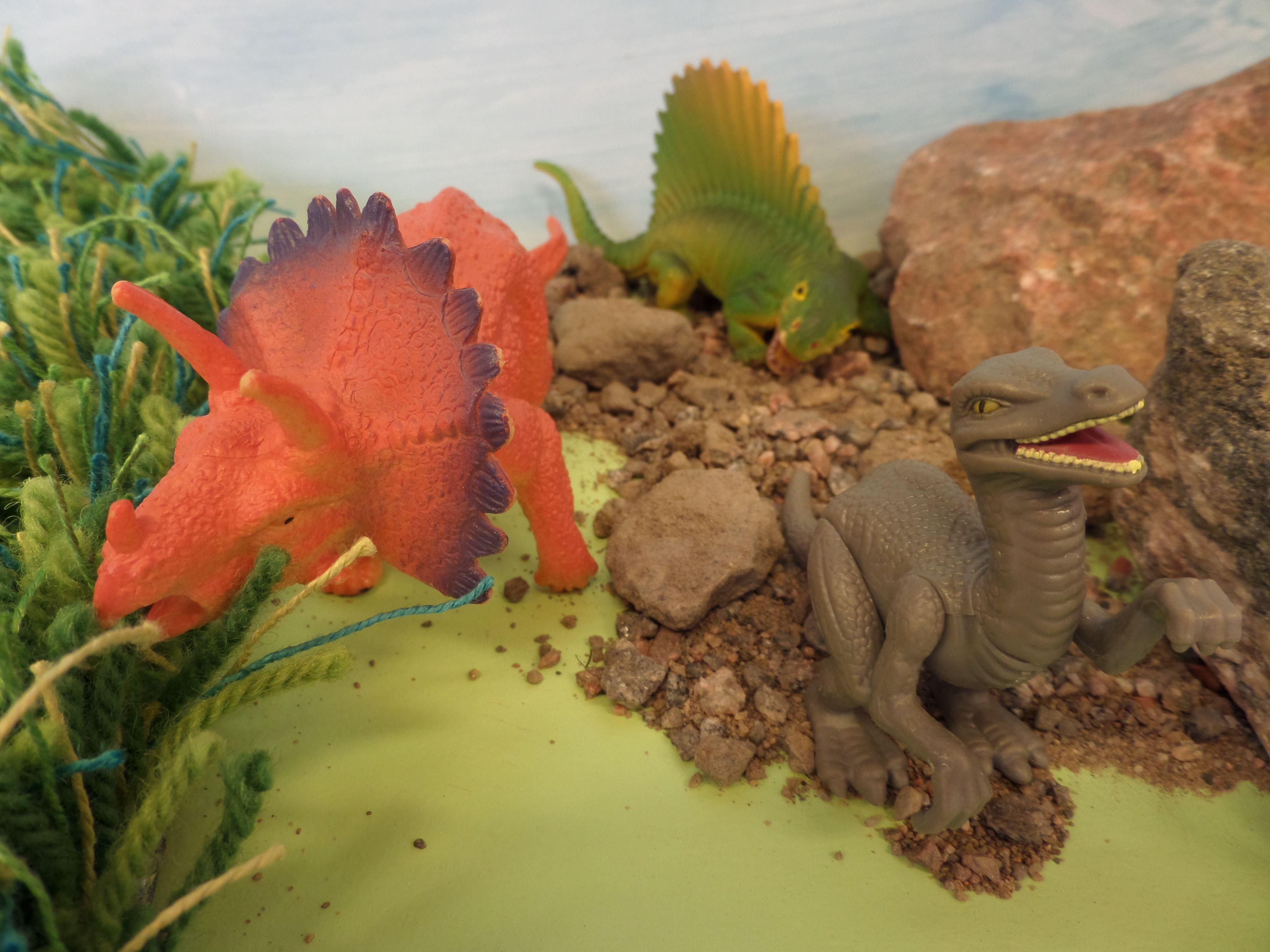 Familjelördag: Tyrannosaurus, Diplodocus, Pteranodon