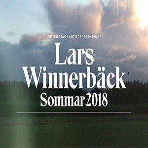 Lars Winnerbäck på Dalhalla 25 och 26 juli 2018
