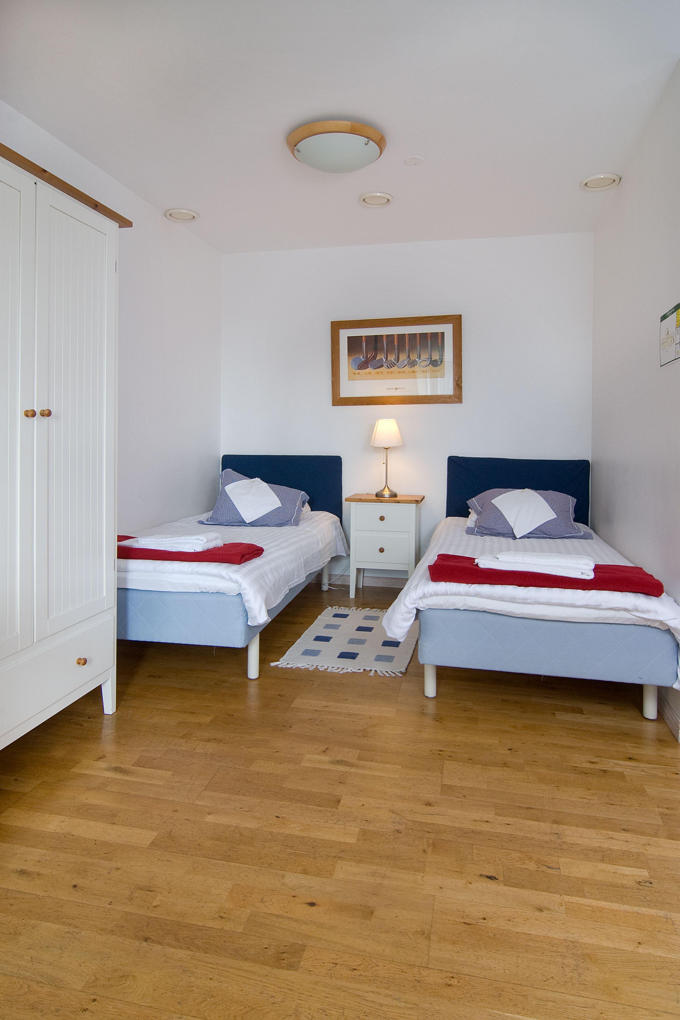 Abbekås Golfrestaurang & Hotell , Interiör sovrum