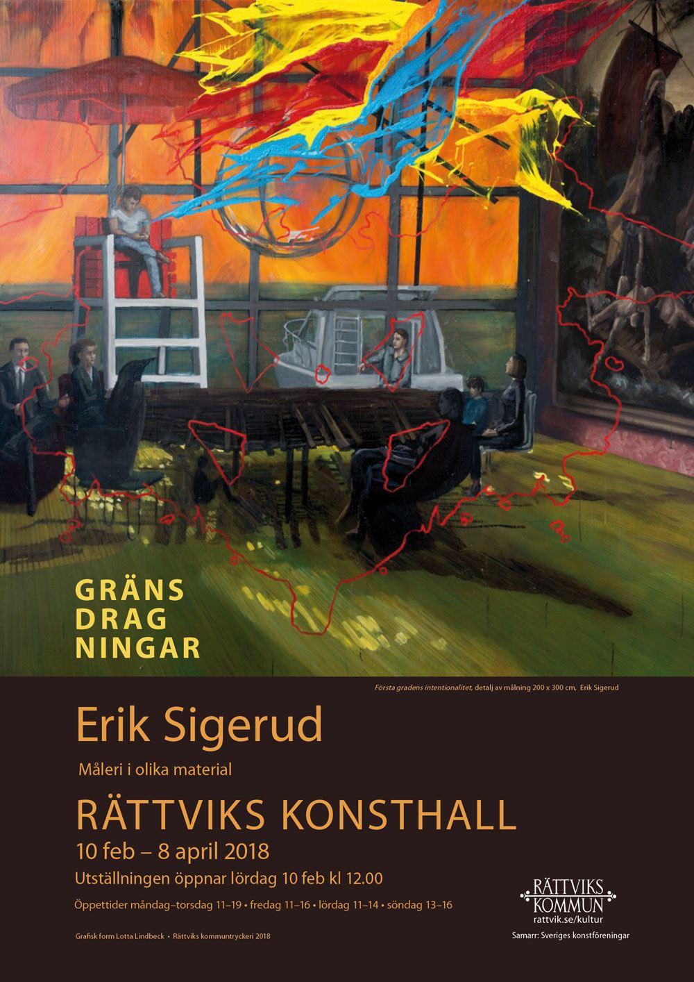 Erik Sigerud - Gränsdragningar