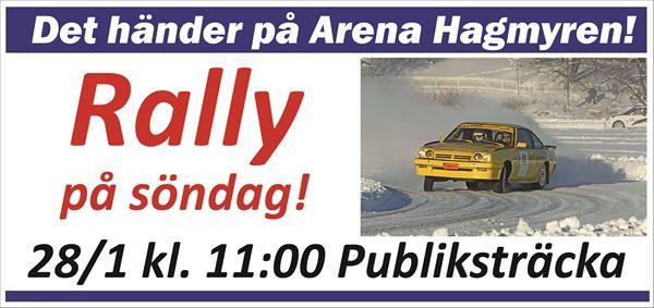 Niclas Alfredsson,  © Arena Hagmyren, Rally Näsviken