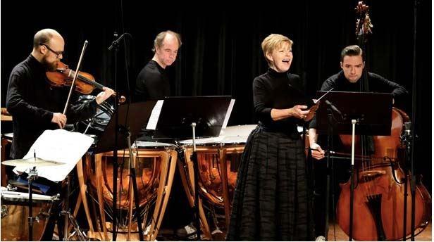 Klosterkonsert Ensemble Konkret med sopran Marie Alexis