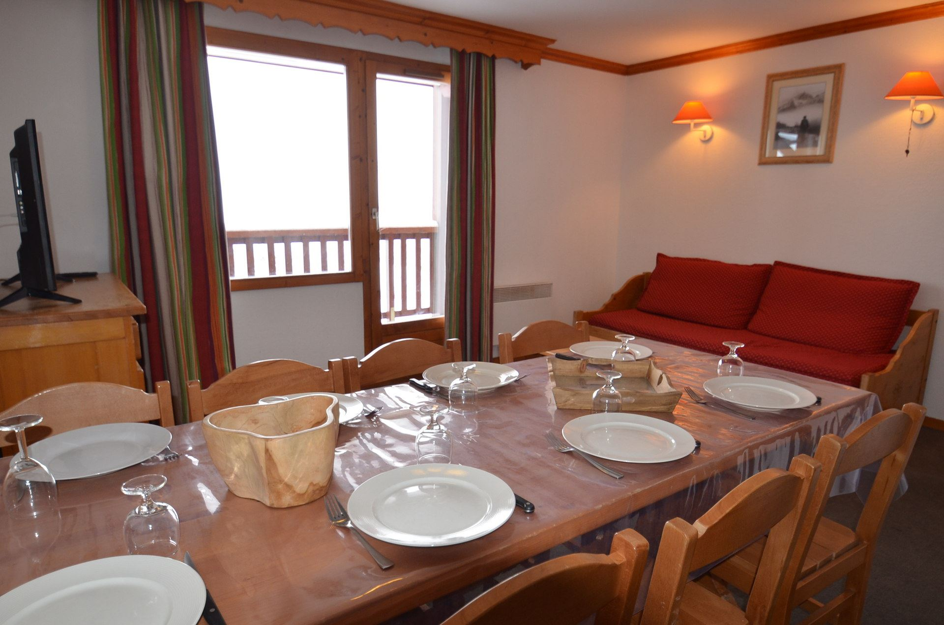 4 Rooms 8 Pers ski-in-ski-out / VALMONT B42