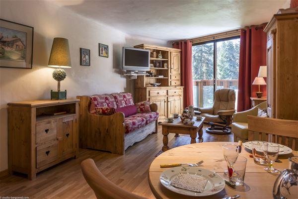 3 rooms, 4 people ski-in ski-out / Domaine du Jardin Alpin 105B (Mountain)