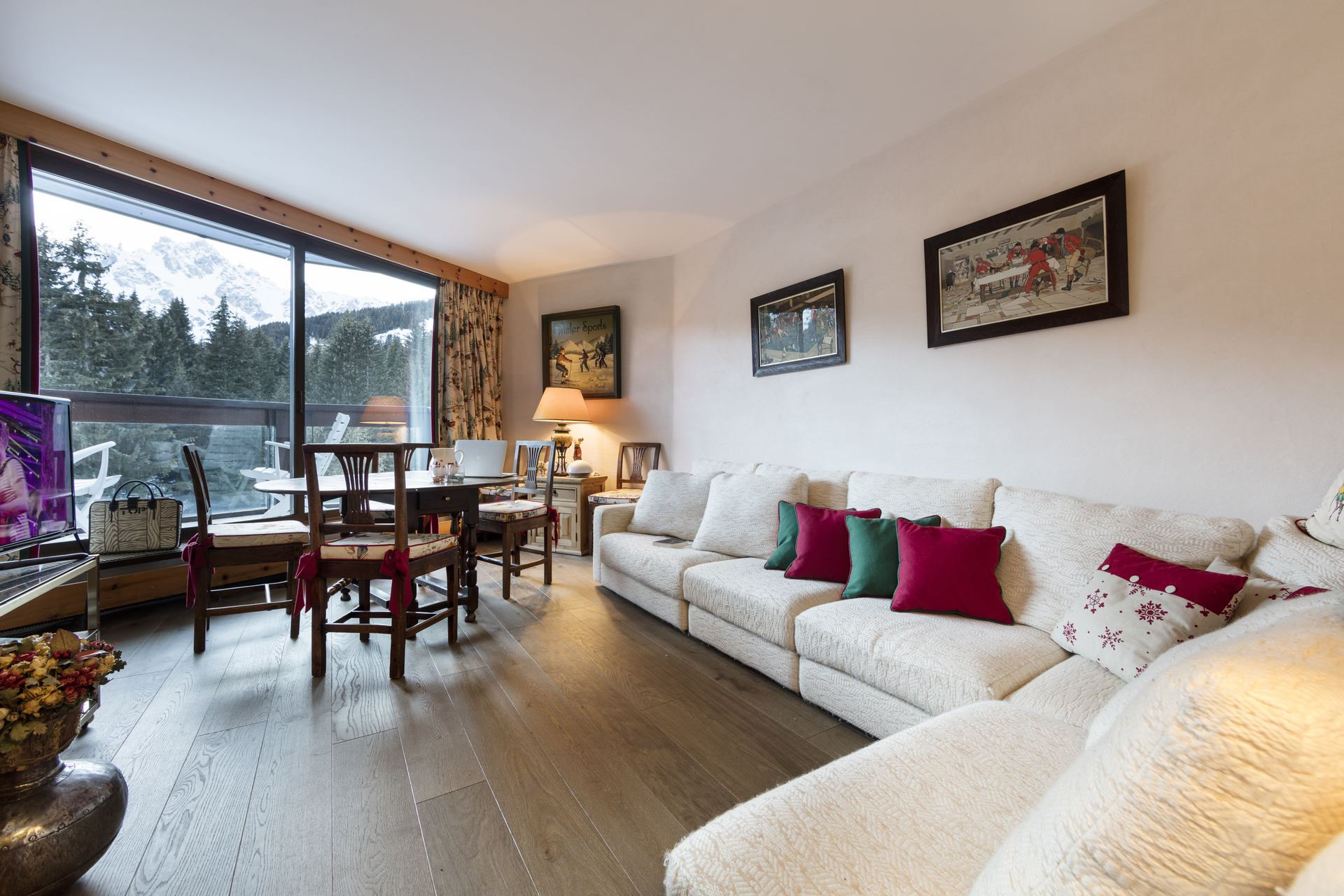 3 rooms 4 people ski-in ski-out / Domaine du Jardin Alpin 306A (mountain)