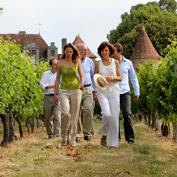 Loire Valley wine and châteaux tour with lunch in a private château