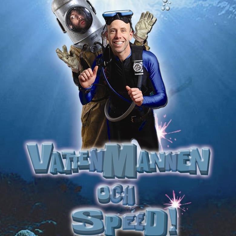 Familjelördag: Vattenmannen och Speed