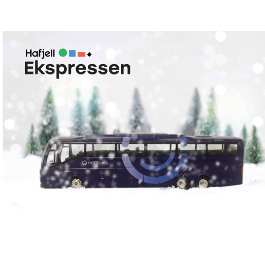 3) Hafjellekspressen - Tur eller retur Oslo-Hafjell, buss en vei