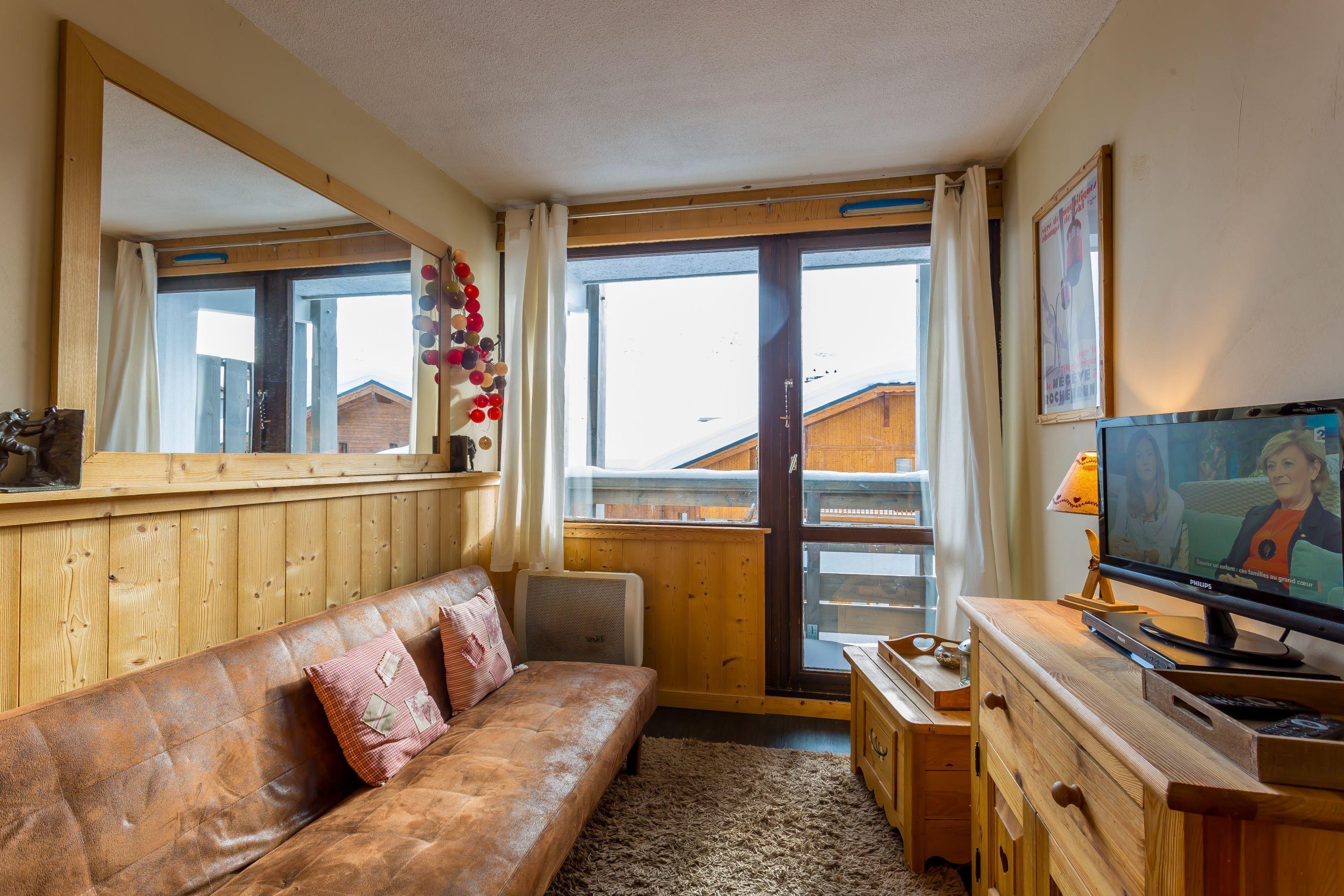 Lauzières 207 > Studio + Cabine - 3 personnes - 3 Flocons Or (Ma Clé IMMO)