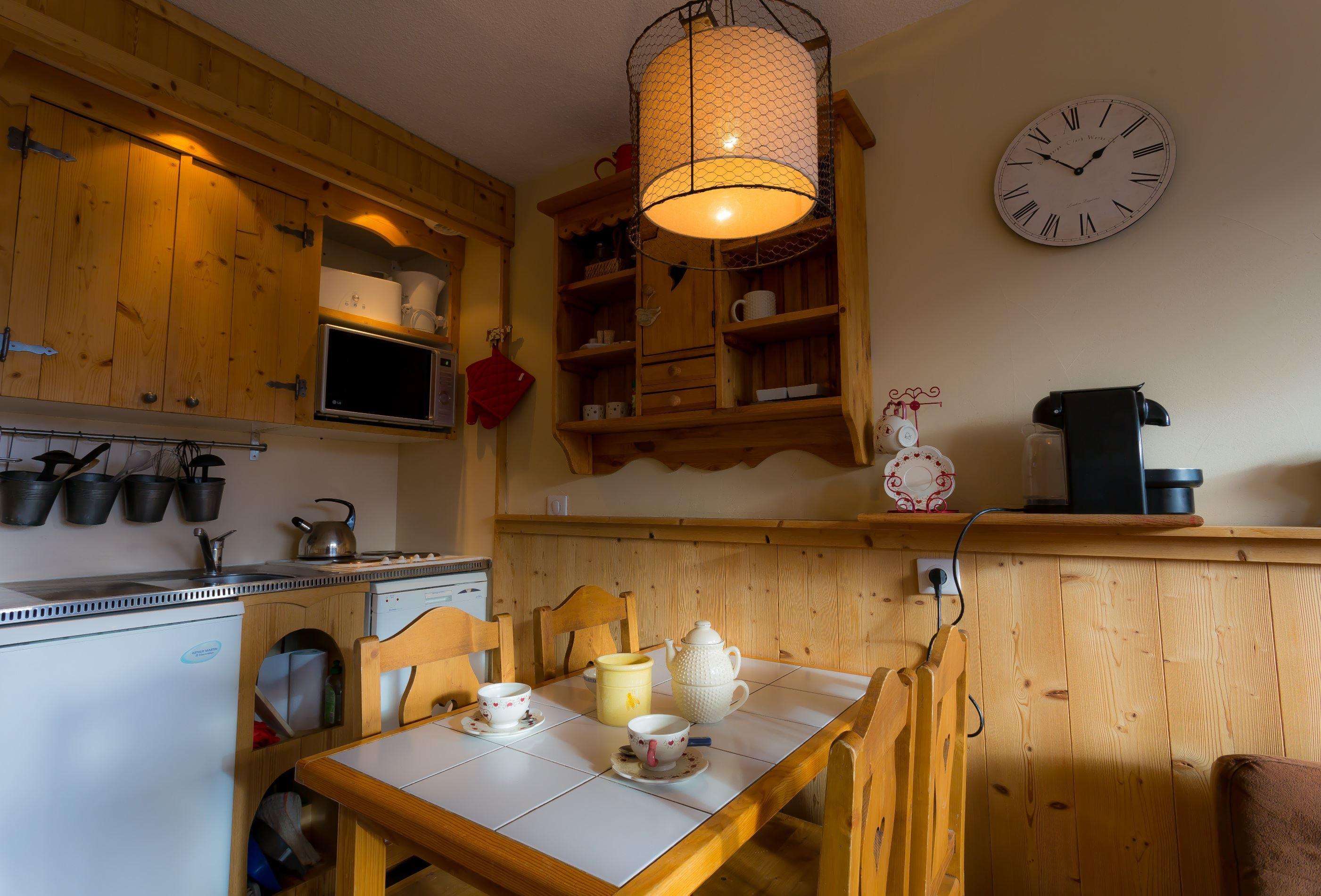 Lauzières 207 > Studio + Cabin - 3 Persons - 3 Gold Snowflakes (Ma Clé IMMO)