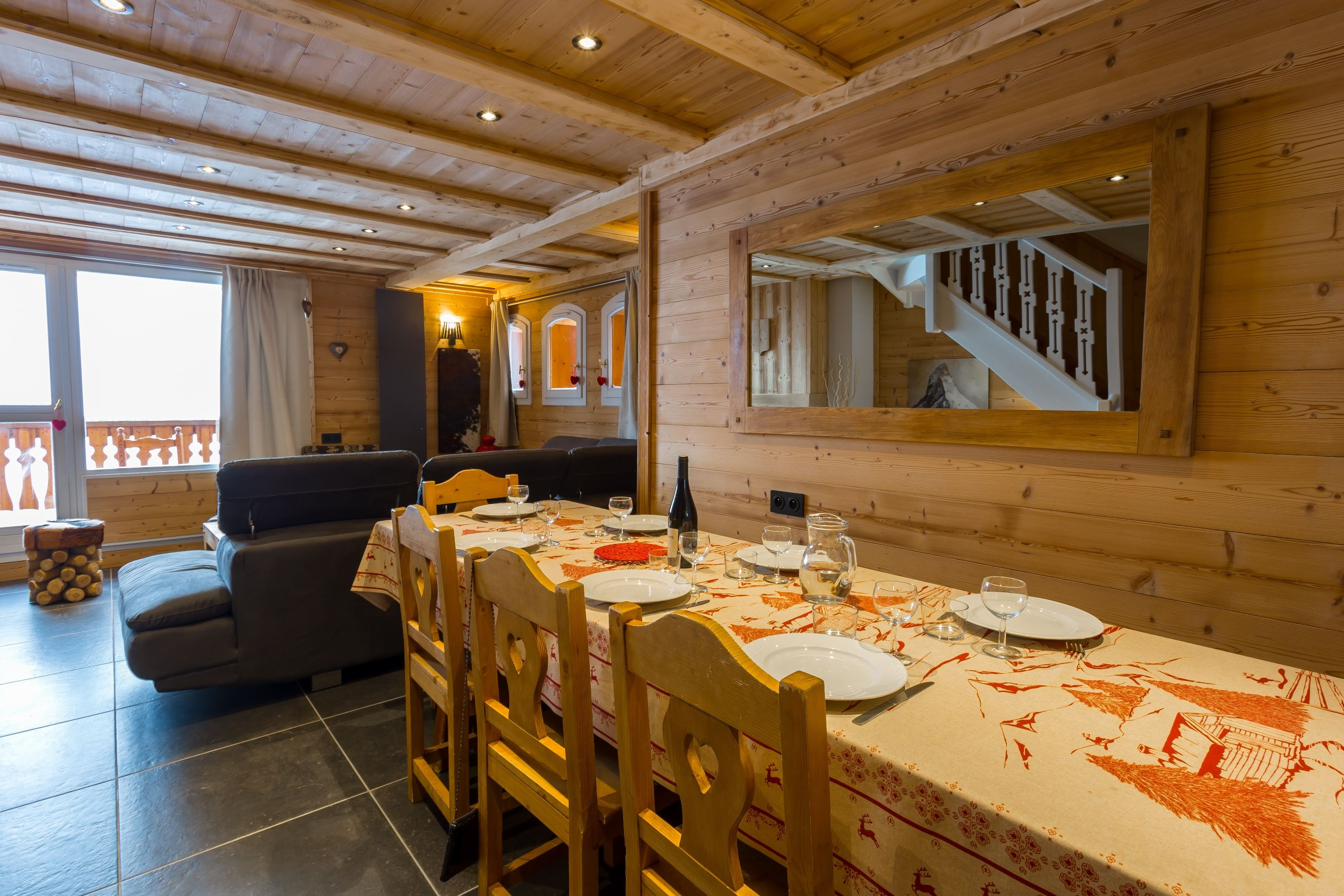 Chalet Sélaou 36 > 7 Rooms - 12 Persons - 4 Silver Snowflakes (Ma Clé IMMO)