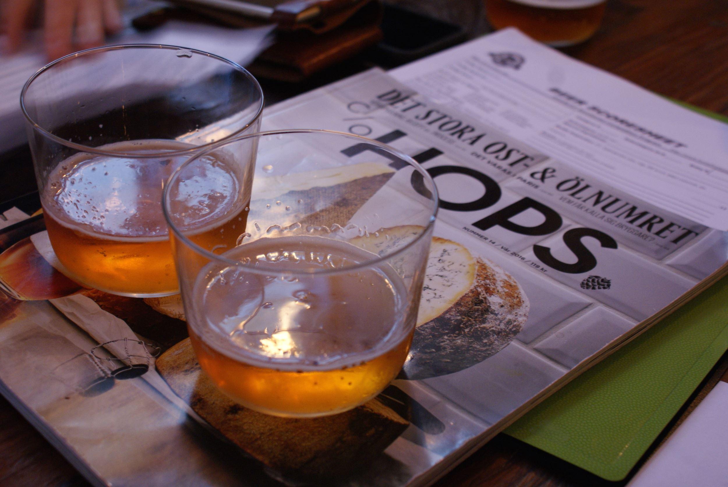 Stockholm Craft Beer tour in English
