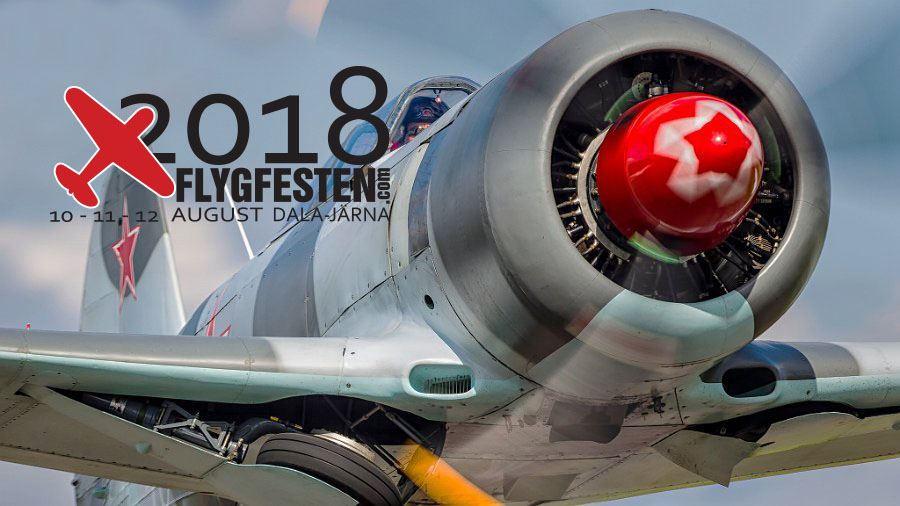 Flygfesten Dala-Järna 2018