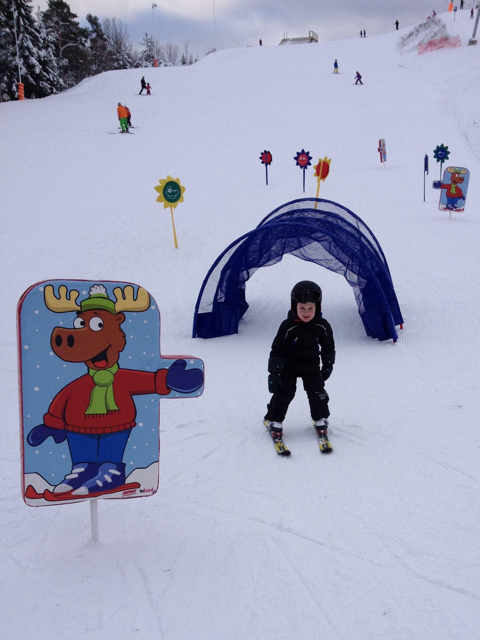 Charlotte Holmsten, Hemlingbybacken & Snowpark