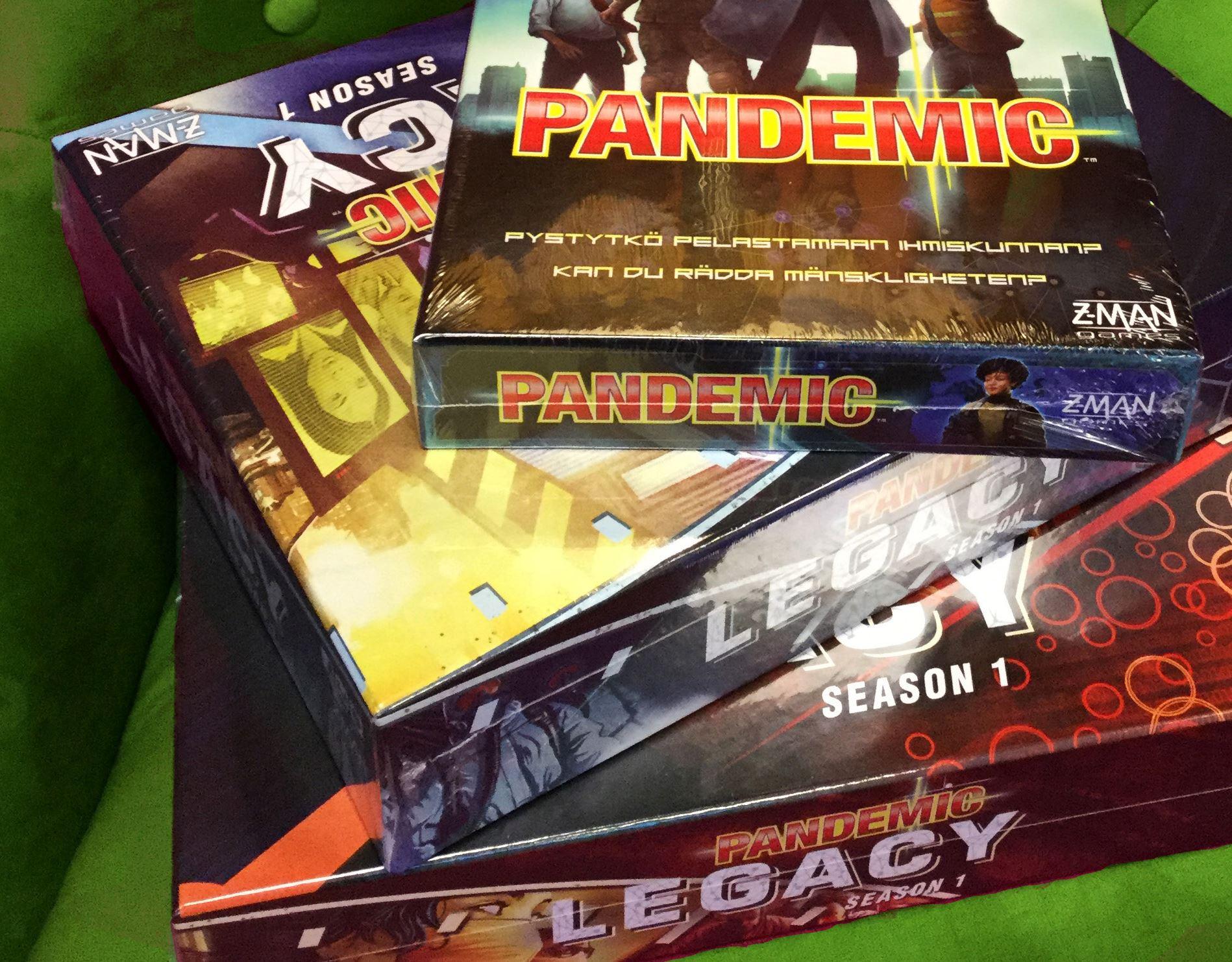 Spelhålan: Pandemic Legacy