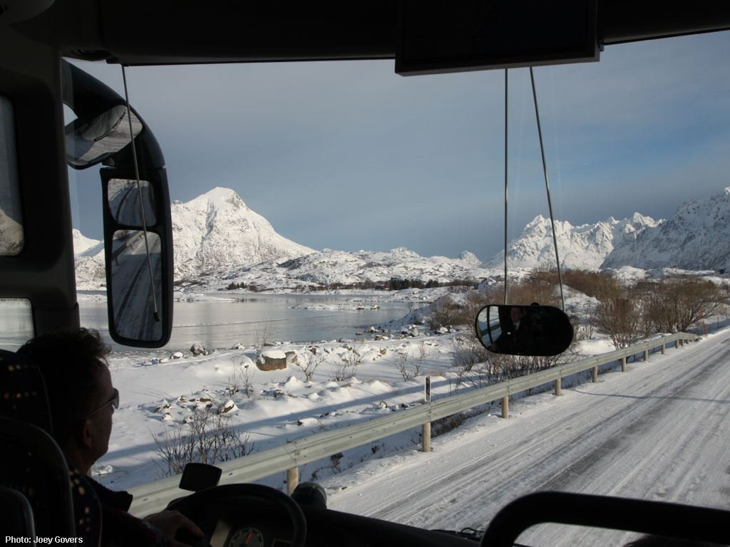 © Joey Govers, Winter sightseeing in Lofoten