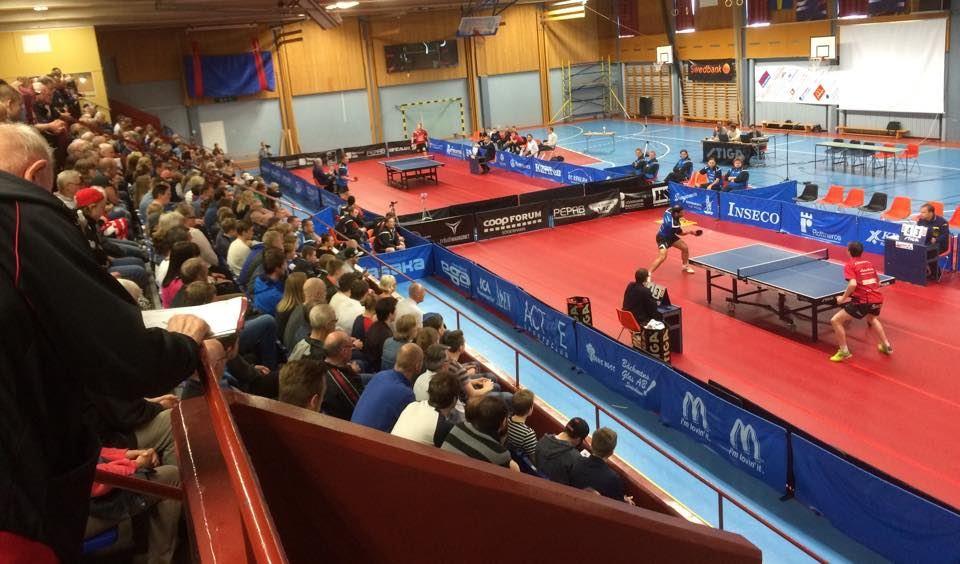 Match i Pingisligan SUIF - Falkenbergs BTK
