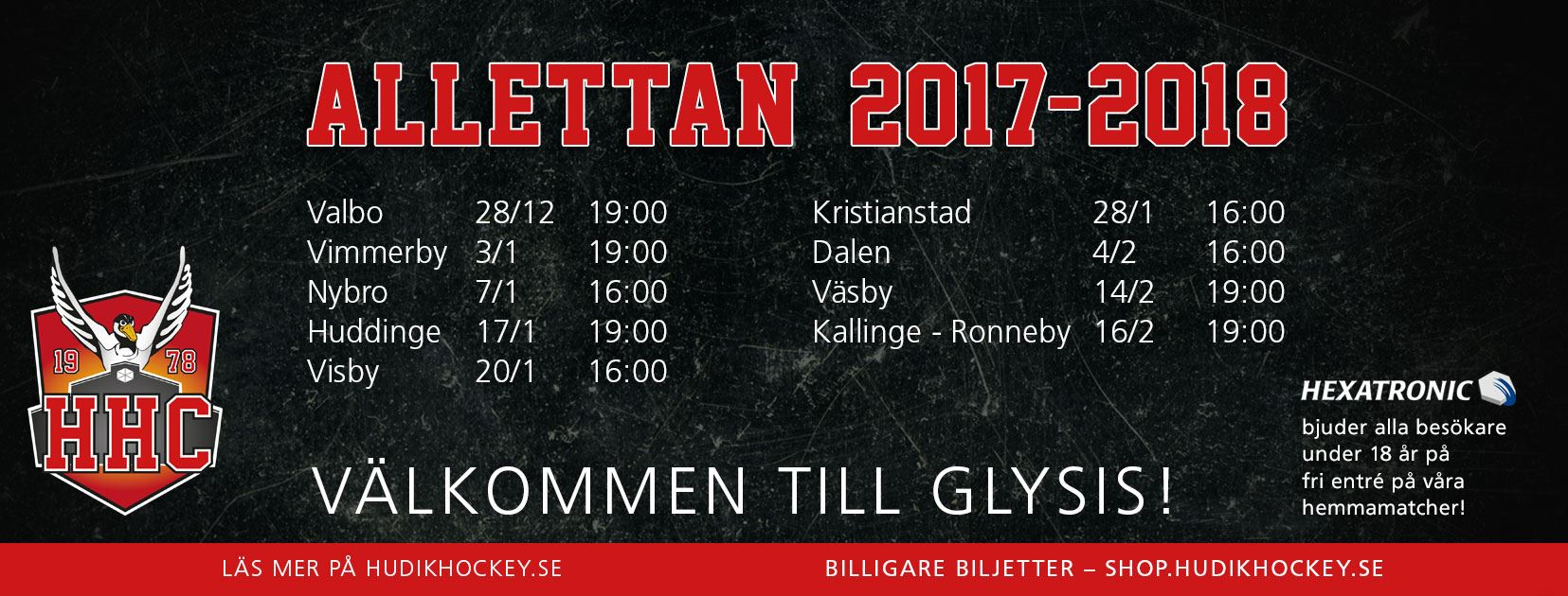 Hudik Hockey-HC Dalen