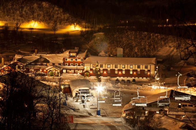 Kvällsåkning i Ramundberget
